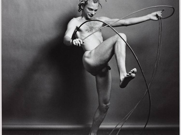 Mapplethorpe, look at the picture