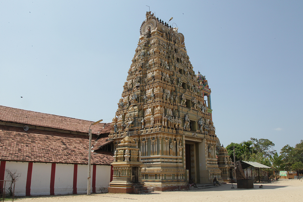 Vallipuram Alvar Vishnu Kovil is a kovil in Jaffna