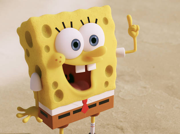 SpongeBob SquarePants in THE SPONGEBOB MOVIE: SPONGE OUT OF WATER,