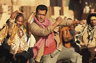 A classic Bollywood dance scene