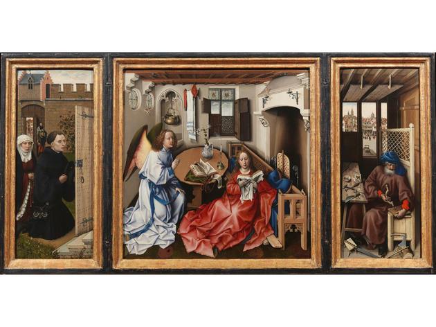 Annunciation Triptych (Merode Altarpiece) (1427–32)