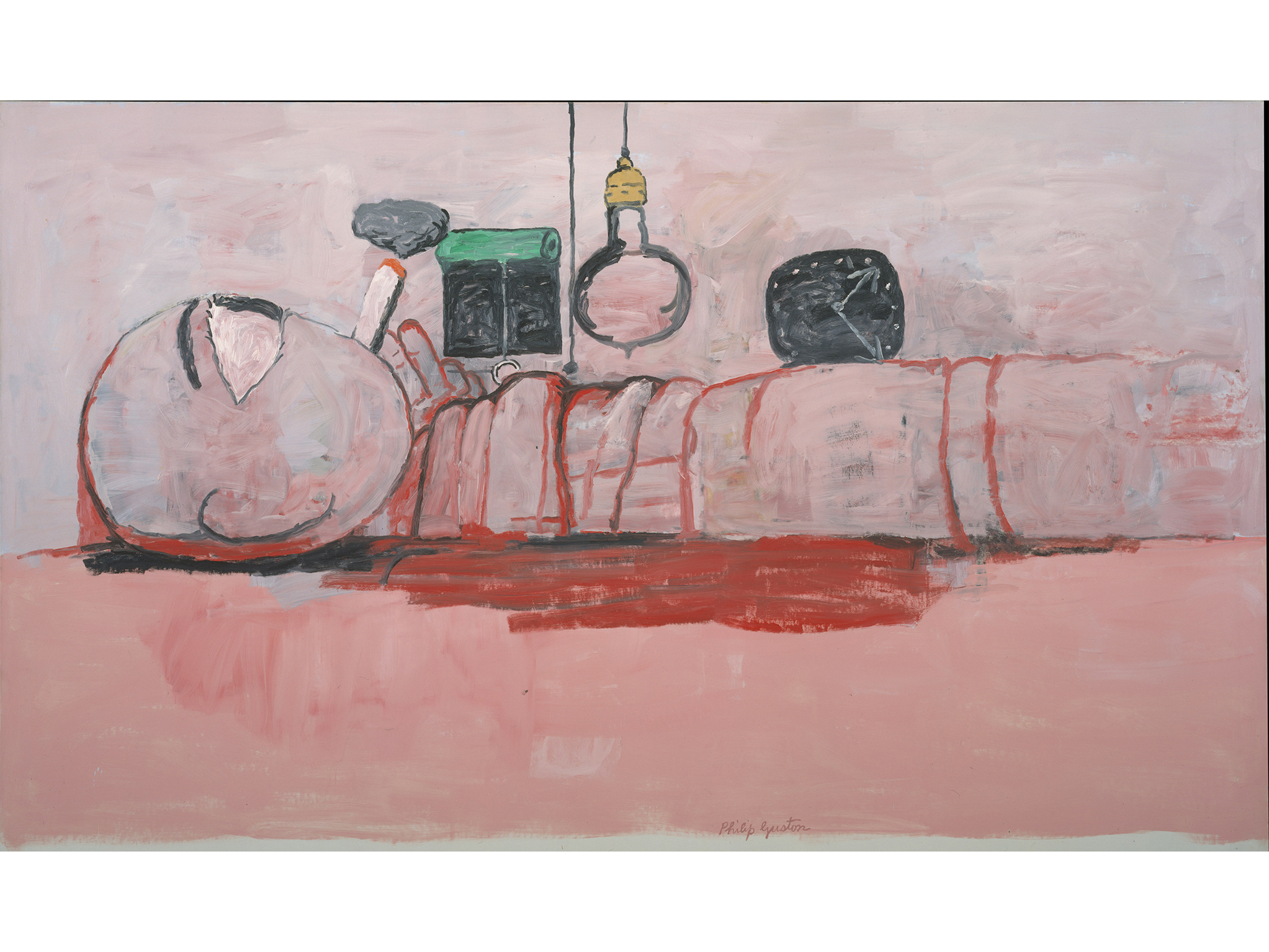 Stationary Figure (1973), Philip Guston