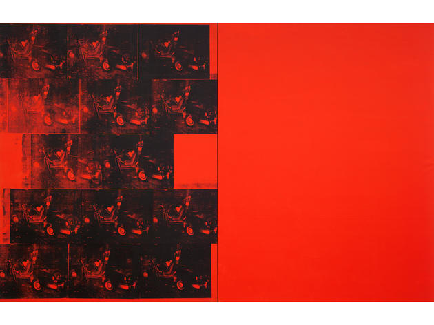Orange Car Crash Fourteen Times (1963), Andy Warhol