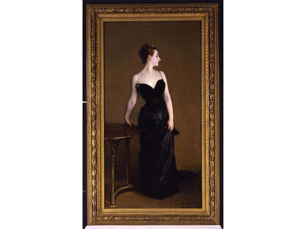 Madame X (Madame Pierre Gautreau) (1883–84), John Singer Sargent