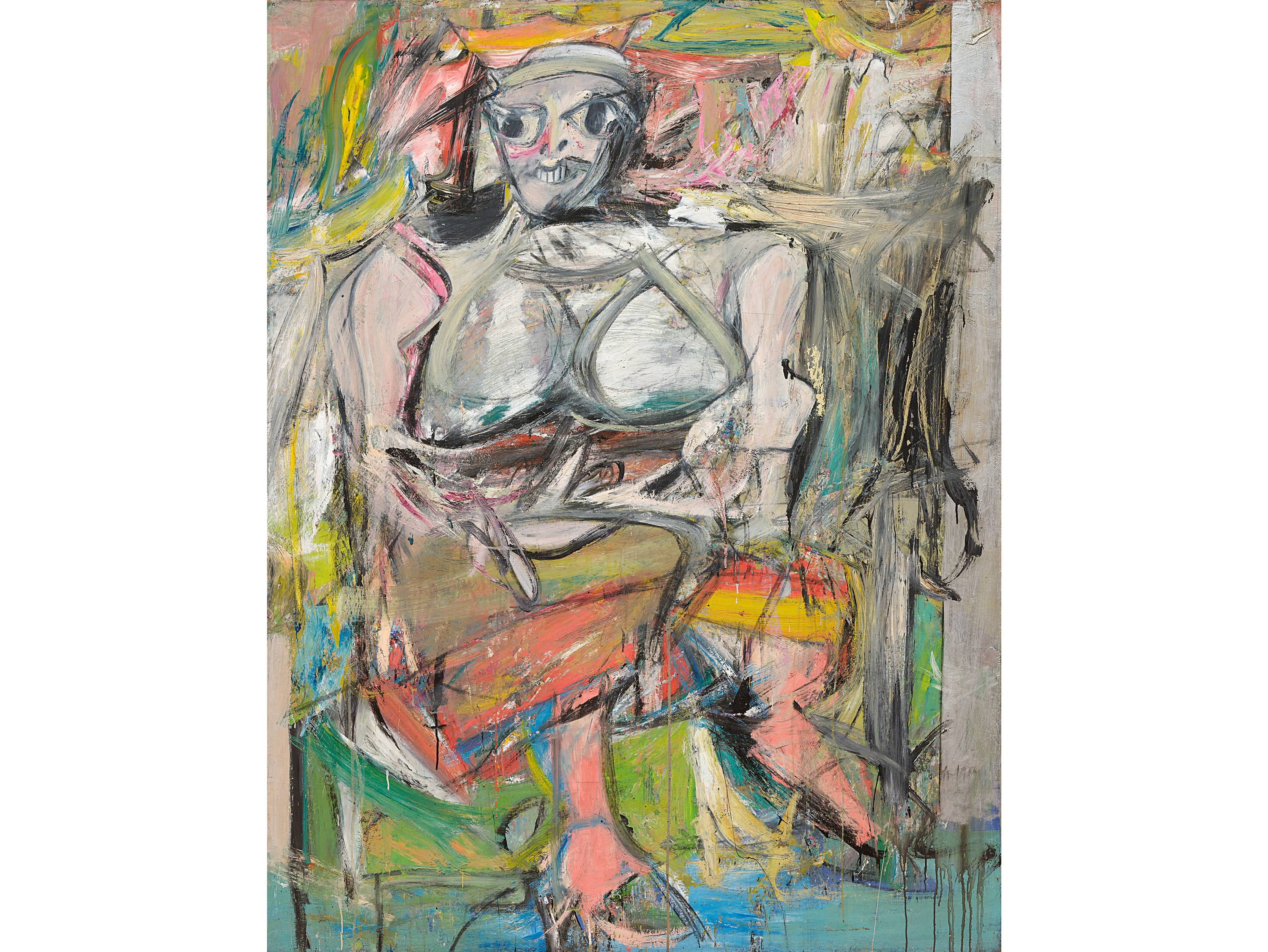 Woman I (1950–52), Willem de Kooning