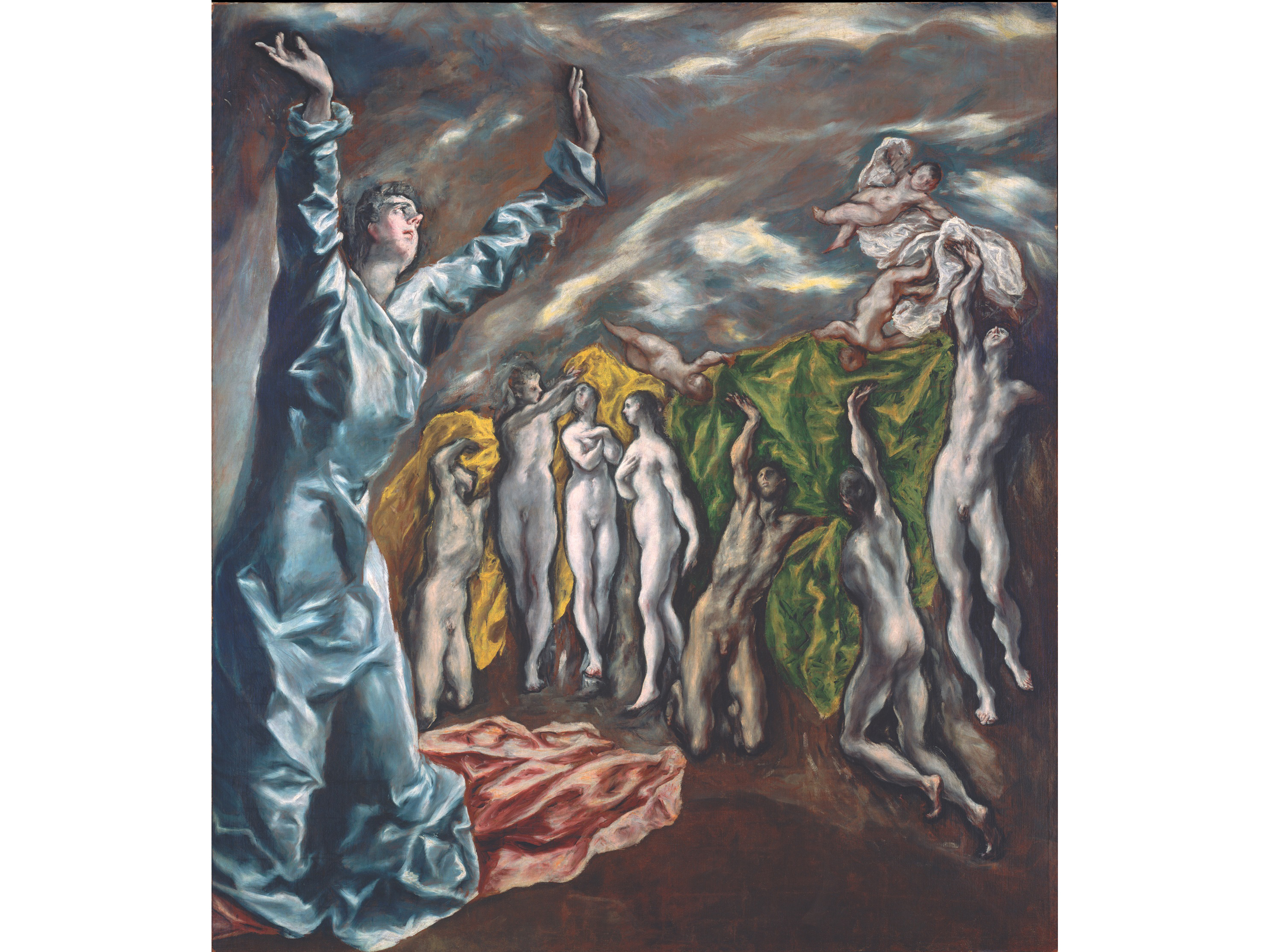 The Vision of St John (1609–14), El Greco