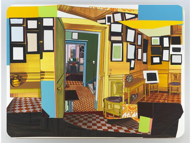 Monet's Salle à Manger Jaune (2012), Mickalene Thomas
