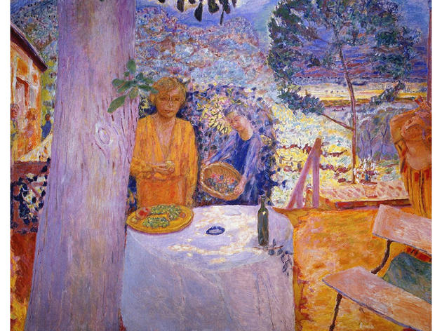 The Terrace at Vernonnet (1939), Pierre Bonnard