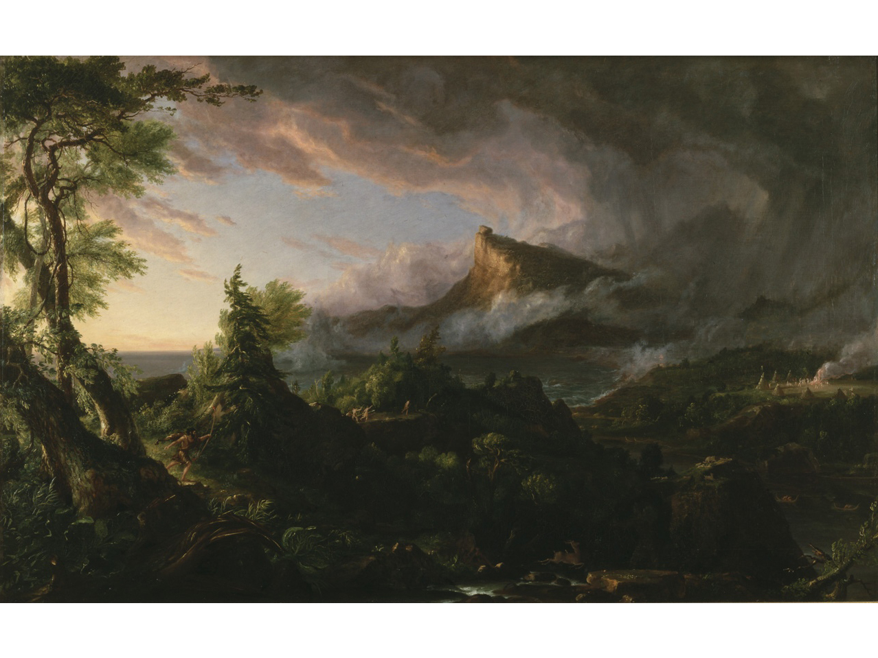 The Course of Empire: Destruction (1836), Thomas Cole