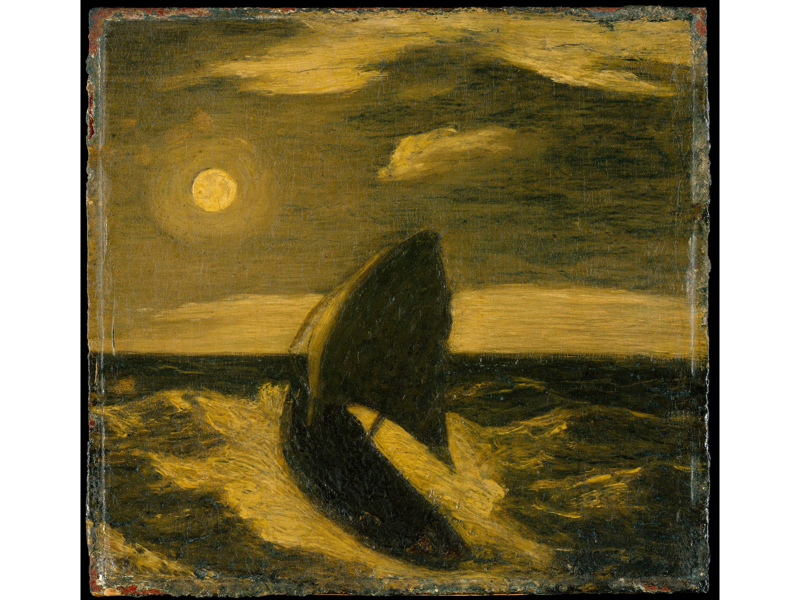 The Toilers of the Sea (1880–1885), Albert Pinkham Ryder