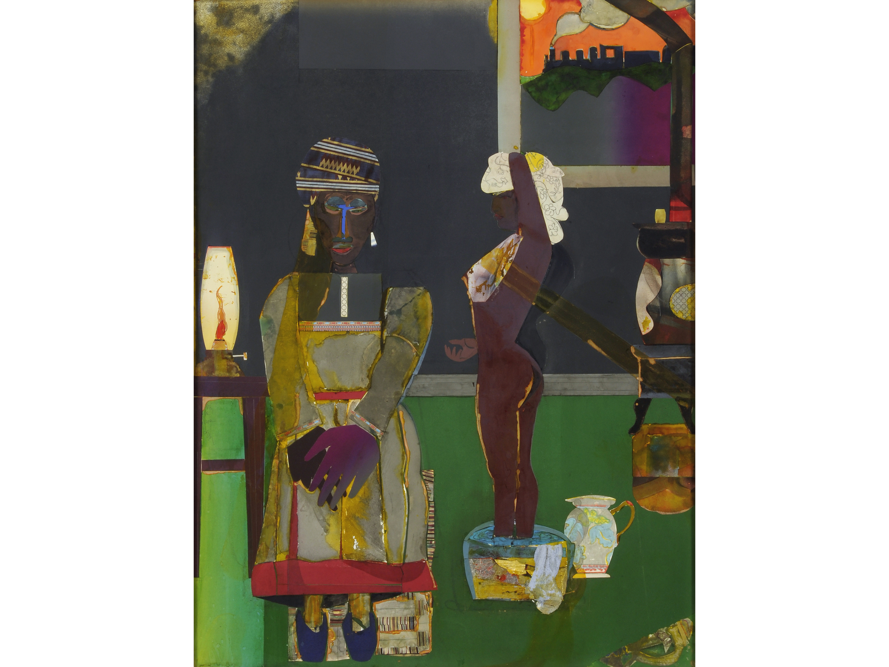Prelude to Farewell (1981), Romare Bearden