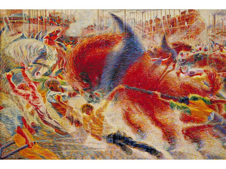 The City Rises (1910), Umberto Boccioni