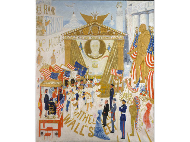 The Cathedrals of Wall Street (1939), Florine Stettheimer