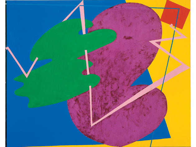 Children Meeting (1978), Elizabeth Murray