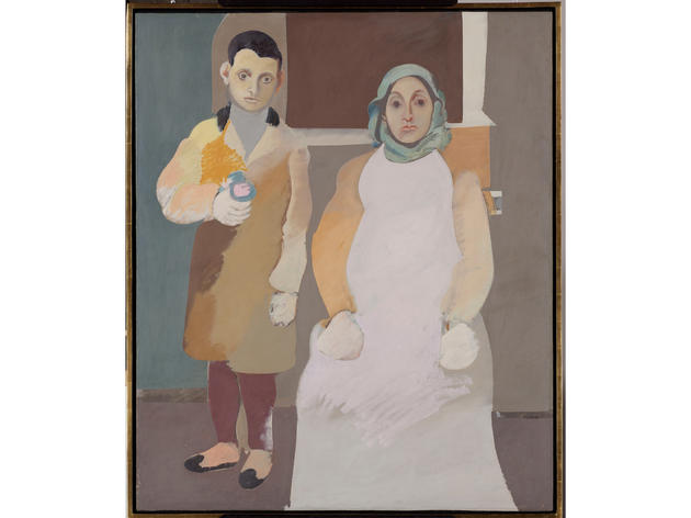 The Artist and His Mother (1926–36), Arshile Gorky