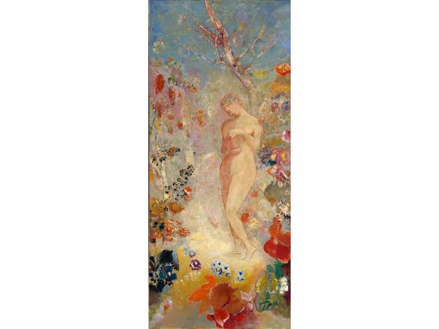 Pandora (1914), Odilon Redon