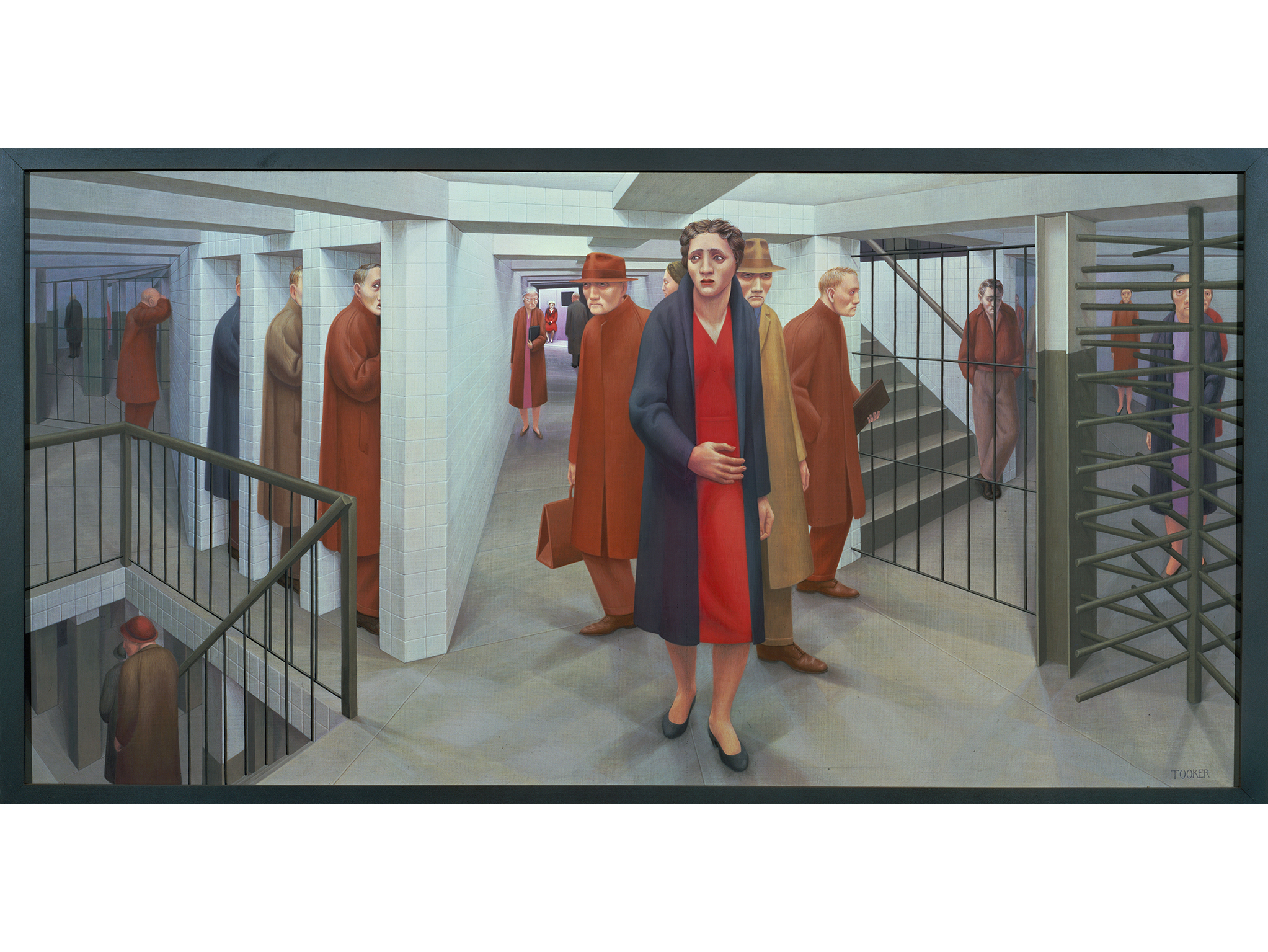 The Subway (1950), George Tooker