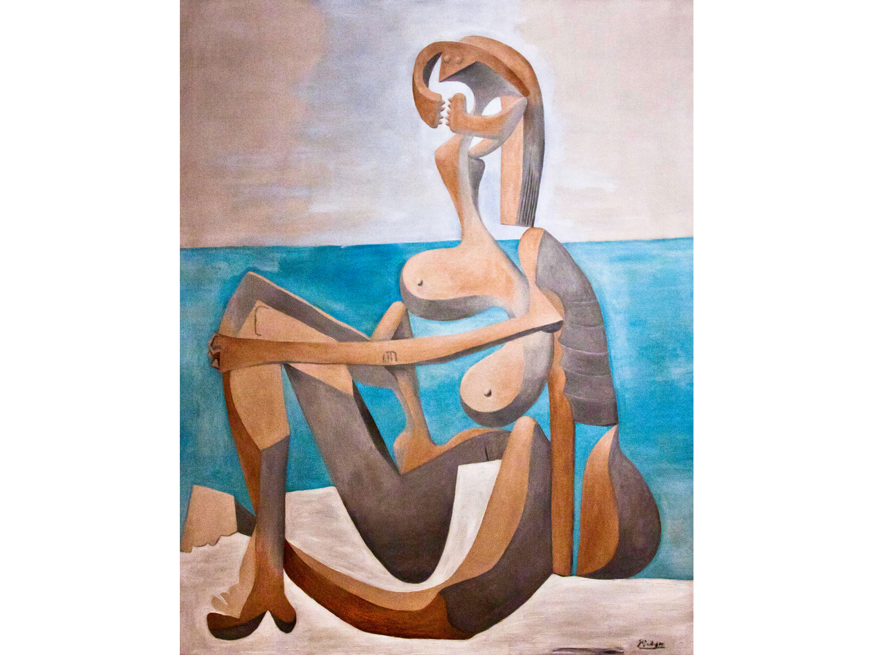 Seated Bather (1930), Pablo Picasso
