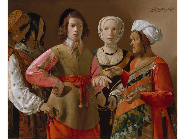 The Fortune Teller (circa 1630), Georges de La Tour