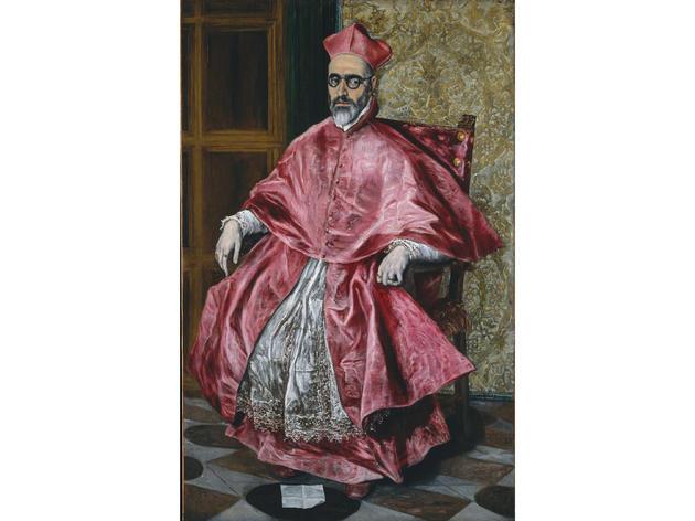 Portrait of a Cardinal (circa 1600), El Greco