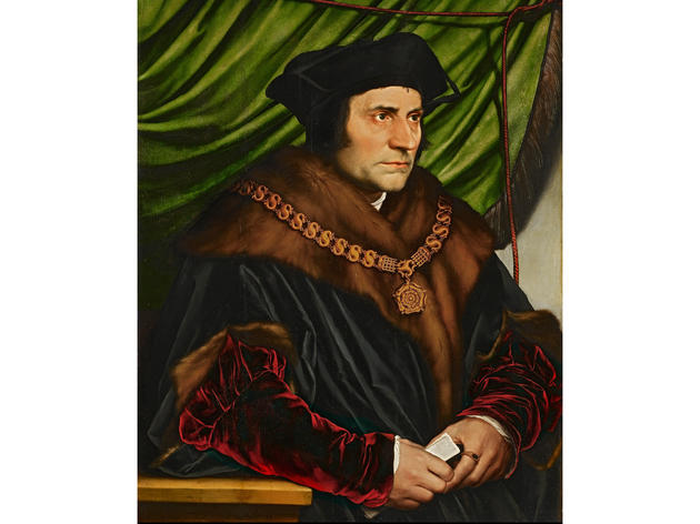 Portrait of Sir Thomas More (1527), Hans Holbein the Younger