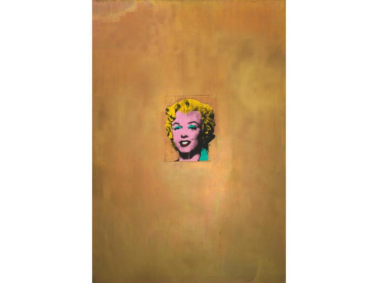 Gold Marilyn Monroe (1962), Andy Warhol