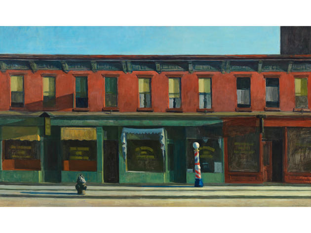 Early Sunday Morning (1930), Edward Hopper