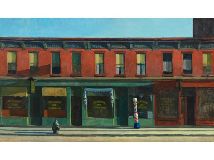 Early Sunday Morning (1930), Edward Hopper