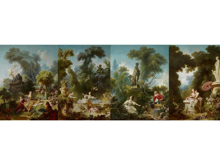 The Progress of Love (1772), Jean Honore Fragonard