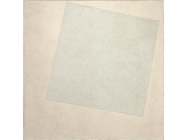 Suprematist Composition: White on White (1918), Kazimir Malevich