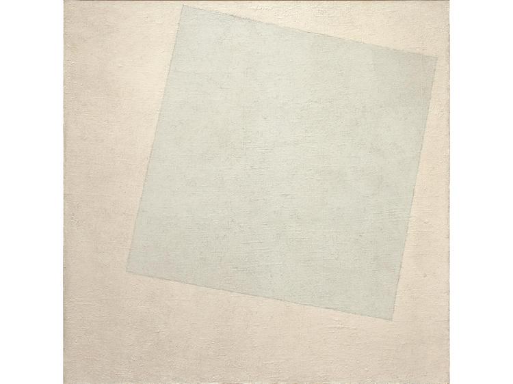 Suprematist Composition: White on White (1918), Kazimir Malevich
