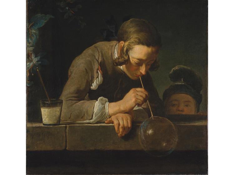 Soap Bubbles (1733–34), Jean-Baptiste-Simon Chardin
