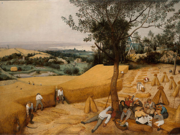 The Harvesters (1565), Pieter Bruegel the Elder