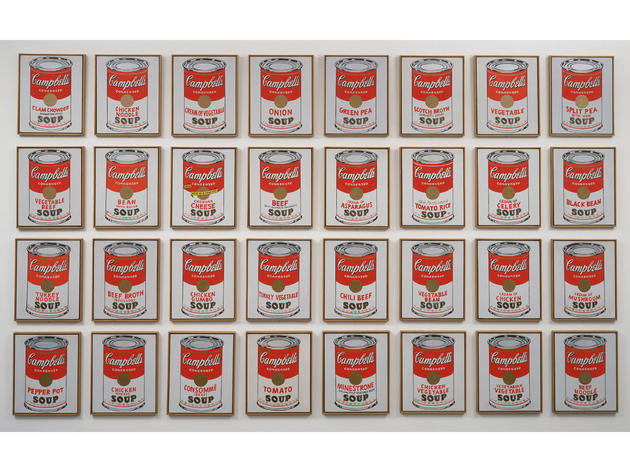 Campbell's Soup Cans (1962), Andy Warhol