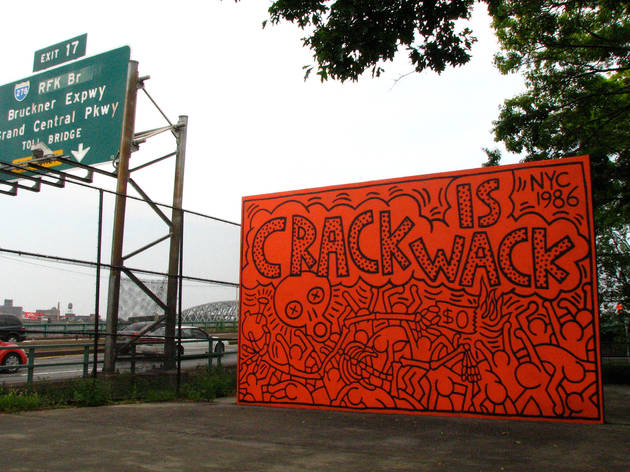 Crack Is Wack (1986), Keith Haring