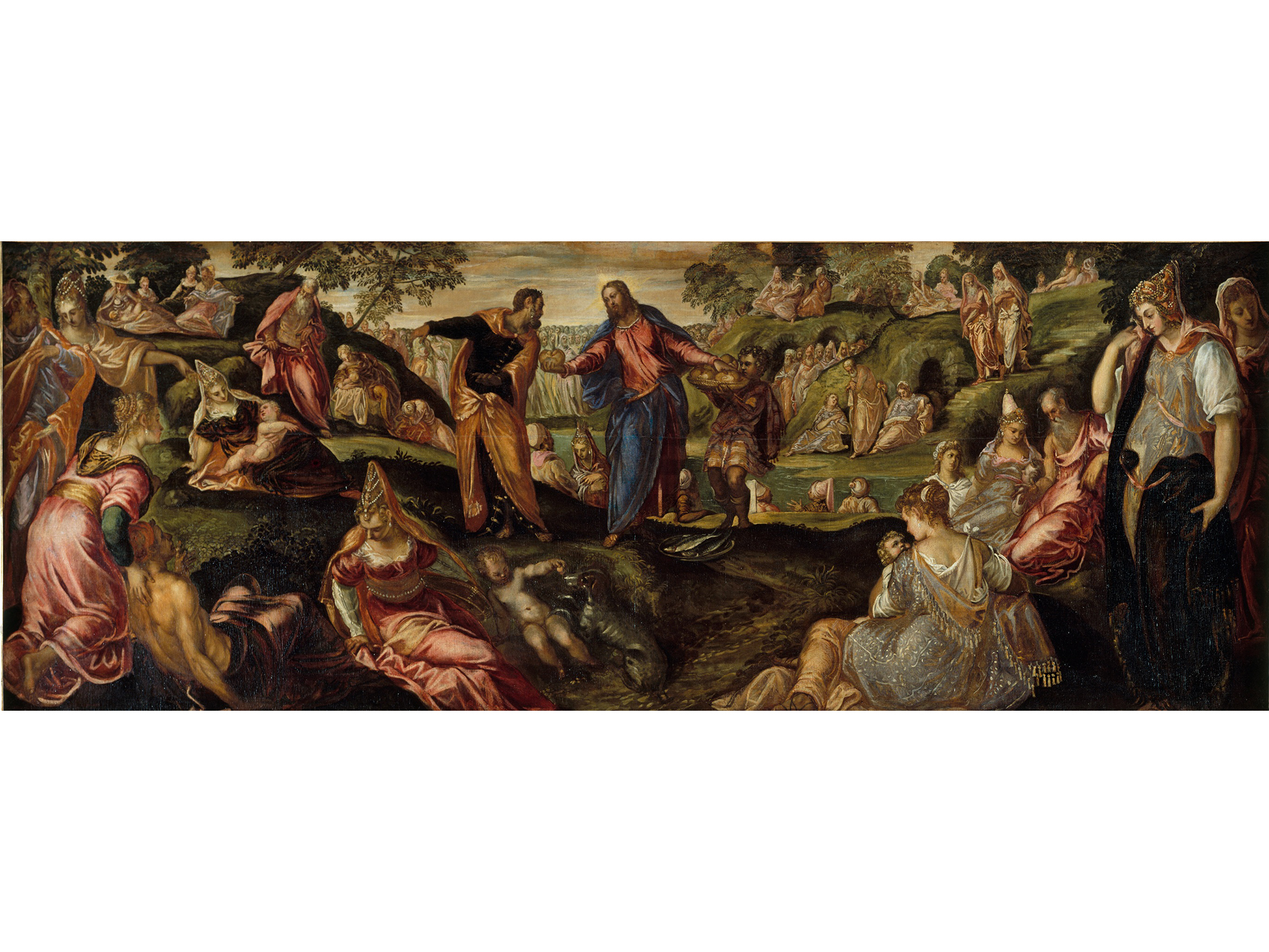 Miracle of the Loaves and Fishes (1545–50), Tintoretto