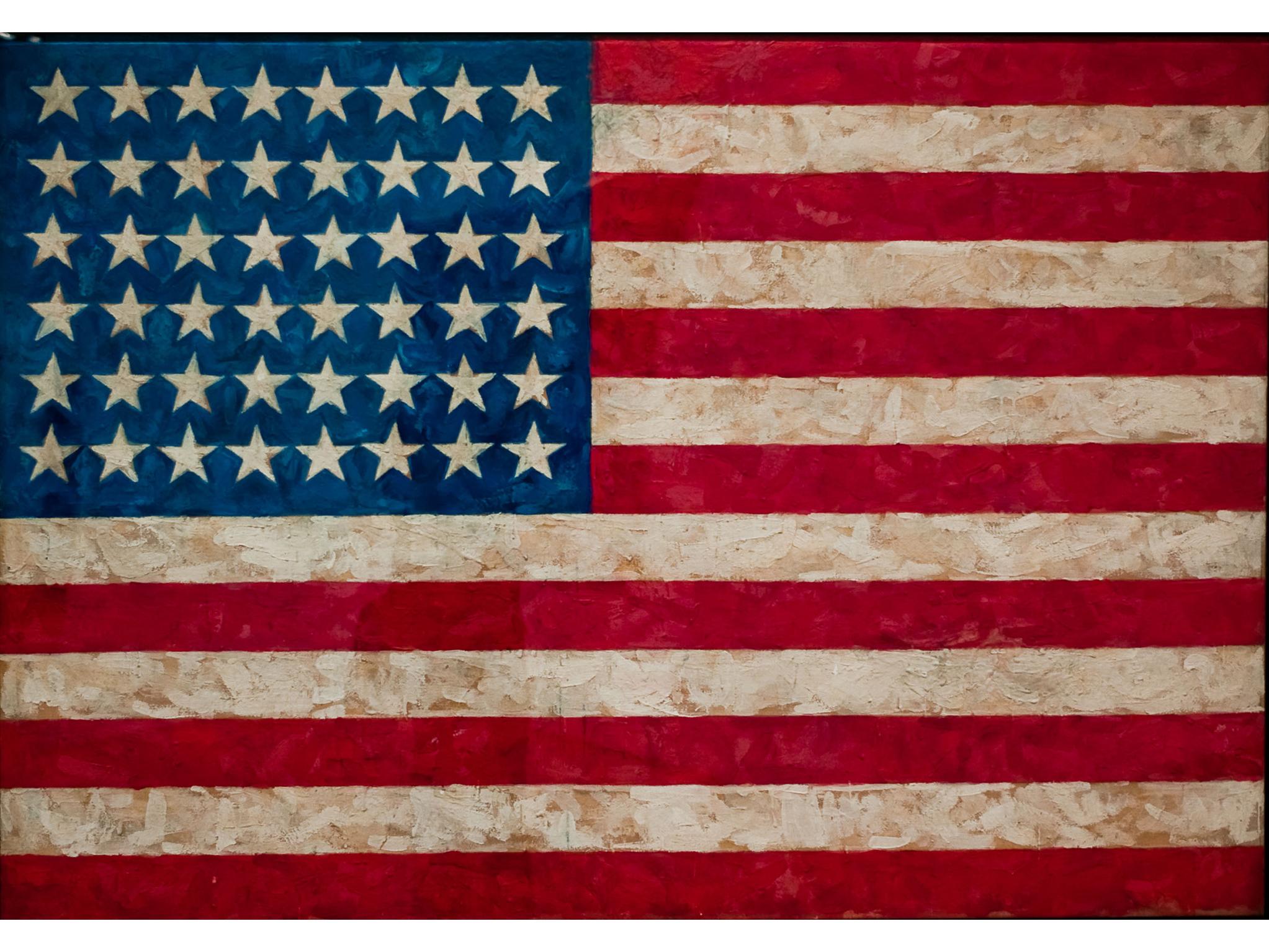 Flag (1954–55), Jasper Johns