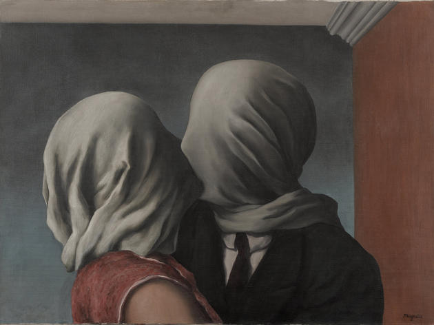 The Lovers (1928), René Magritte