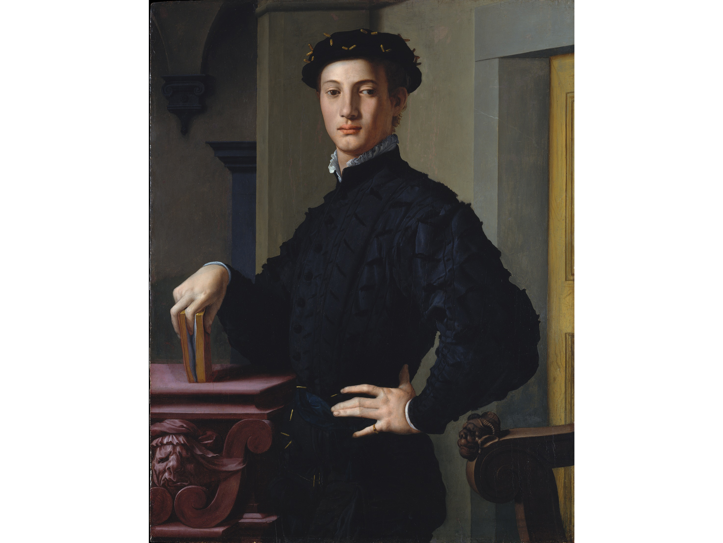Portrait of a Young Man (1530), Bronzino