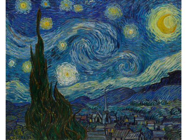 The Starry Night (1889), Vincent van Gogh