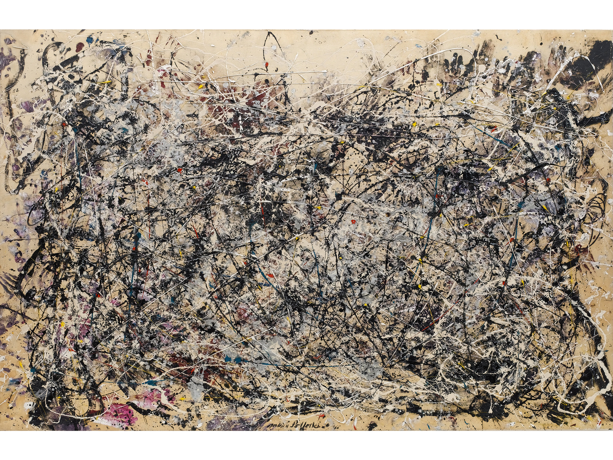 Number 1A (1948), Jackson Pollock