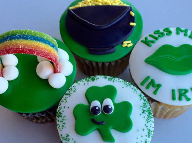 St. Patrick's Day Cupcake Class