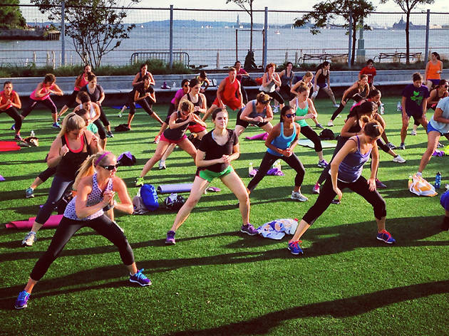 The best free fitness classes in NYC