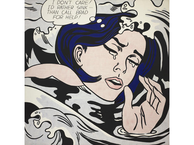 Drowning Girl (1963), Roy Lichtenstein