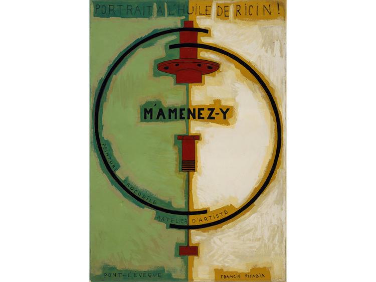 M'Amenez-y (1920), Francis Picabia