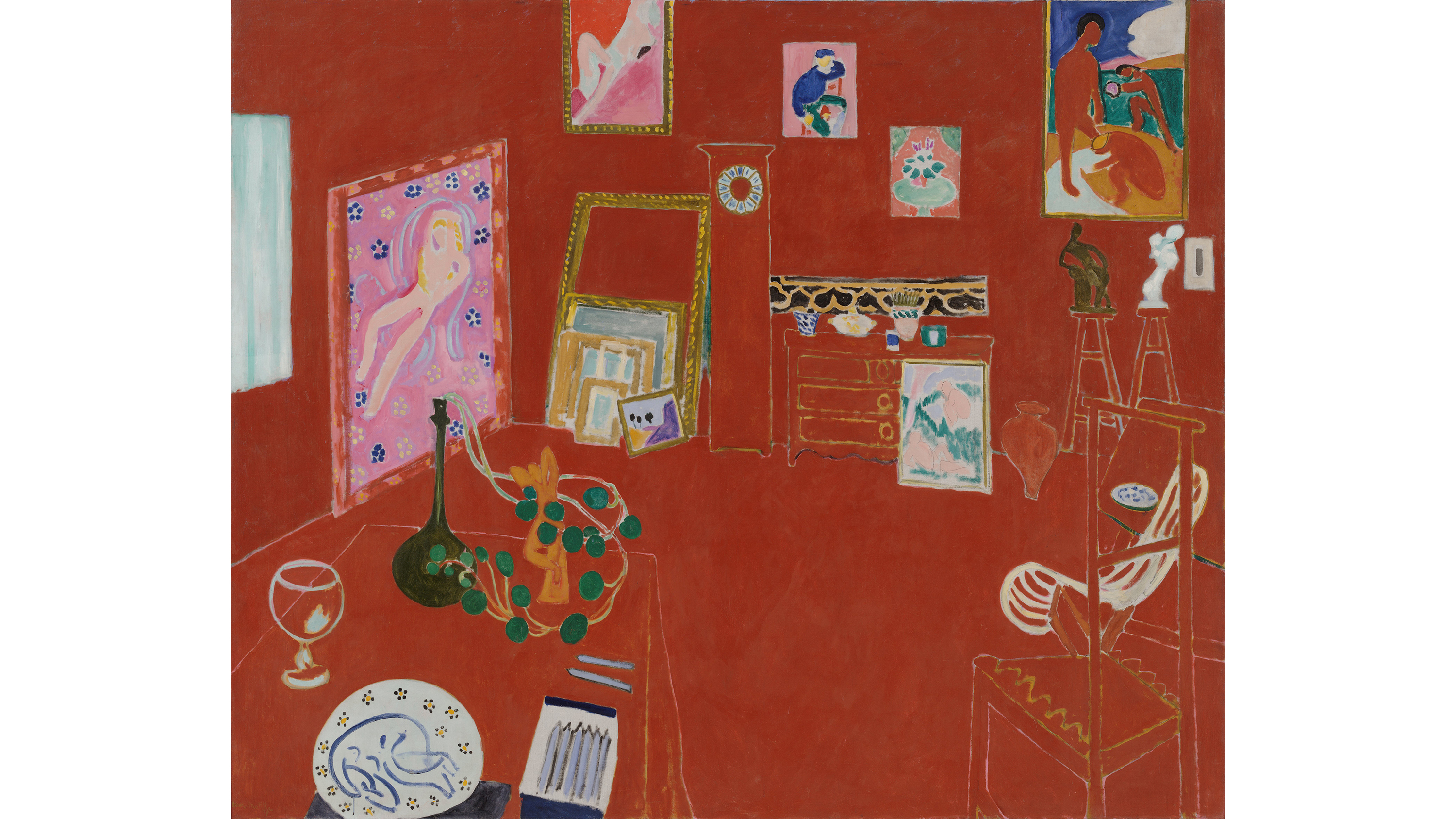 The Red Studio (1911), Henri Matisse