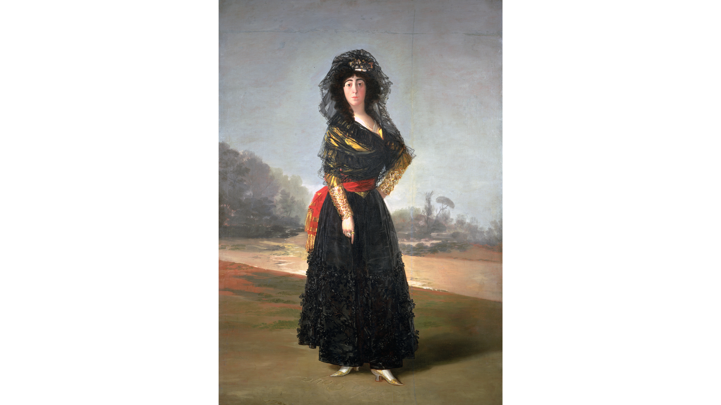 The Duchess of Alba (1797), Francisco Goya