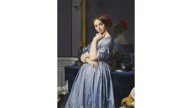 Comtesse d'Haussonville (1845), Jean-Auguste-Dominique Ingres