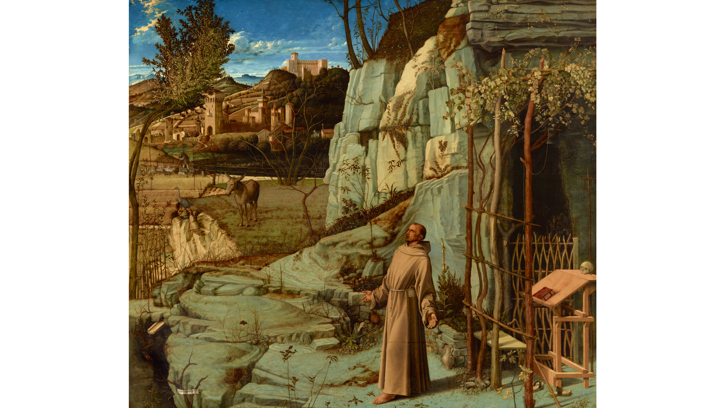 St. Francis in the Desert (1475–78), Giovanni Bellini