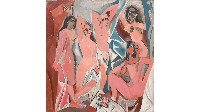 Les Demoiselles d'Avignon (1907), Pablo Picasso